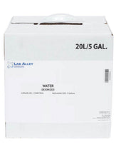 Buy A 5 Gallon Cube Of Deionized Water Lab Grade For $60
