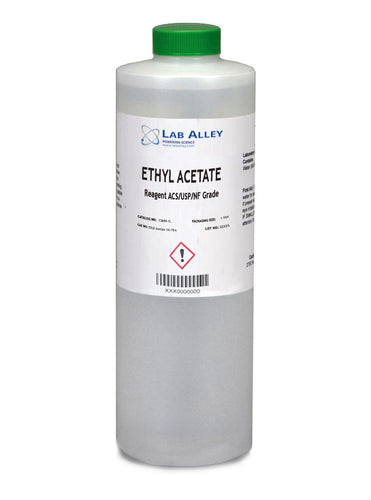 Ethyl Acetate ACS/USP/NF Grade, 500ml