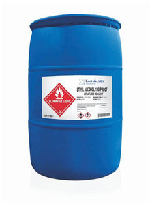 140 Proof Ethanol | 1 Gallon | Denatured | 70% Ethyl Alcohol | 55 Gallons