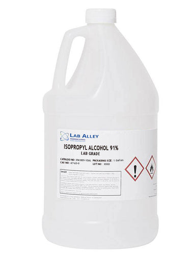 Isopropyl Alcohol 90%-91%, 4x1 Gallon