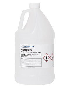 Methanol (Methyl Alcohol), Reagent ACS, USP/NF Grade, 1 Gallon