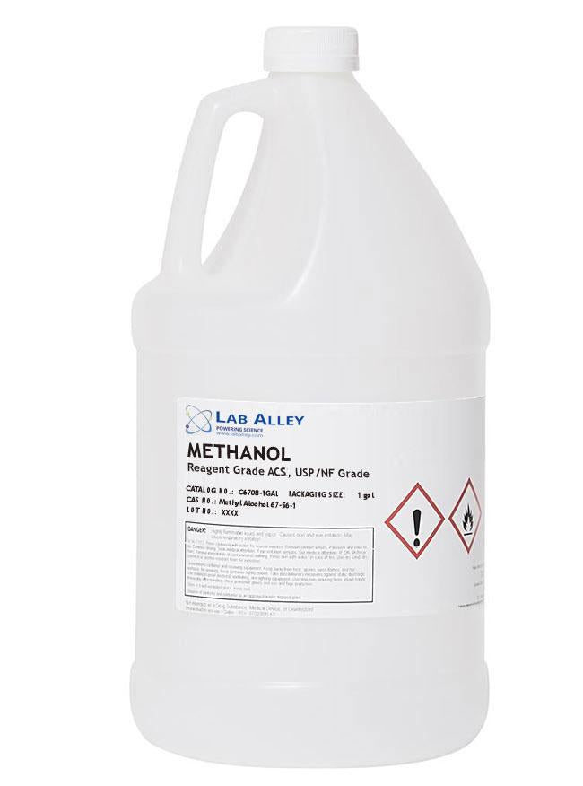 Methanol For Sale | For Cannabis And Hemp Processing | ACS/USP/NF Grade