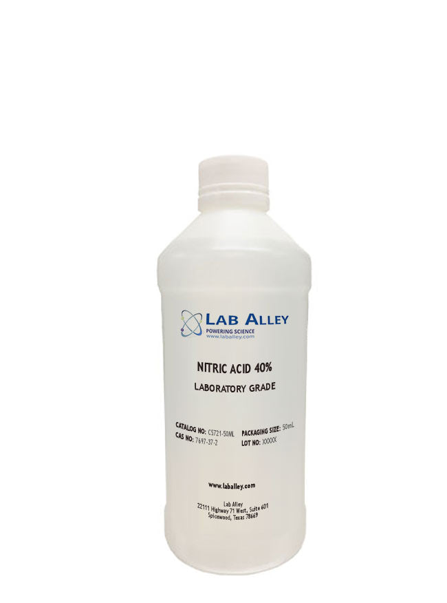 Nitric Acid Solution 40% Lab, 50ml