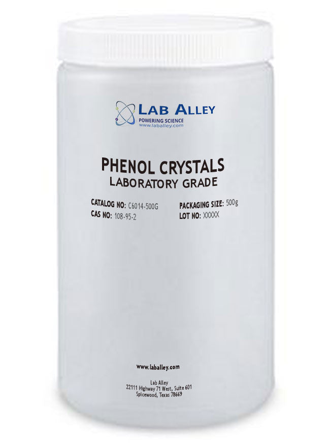 Phenol Crystals | Lab Grade 500g
