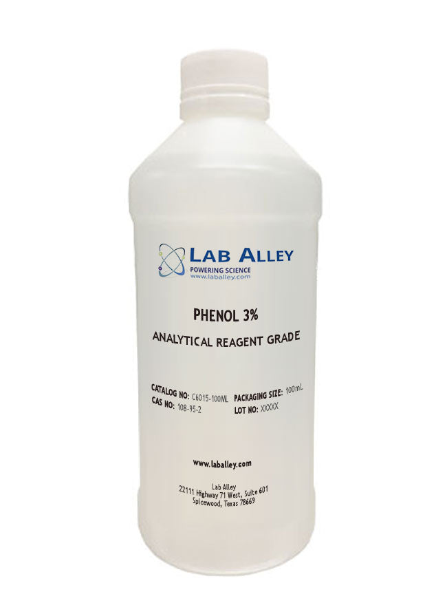 Phenol 3% Aqueous Solution 100ml