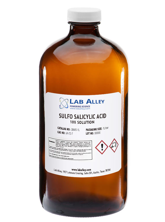 Sulfo Salicylic Acid 10% Solution 1 Liter