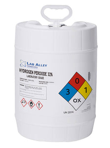 Hydrogen Peroxide 32% Lab Grade 5 Gallons