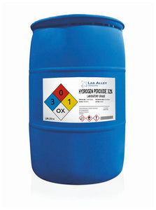 Hydrogen Peroxide 32% Lab Grade 55 Gallon Drum