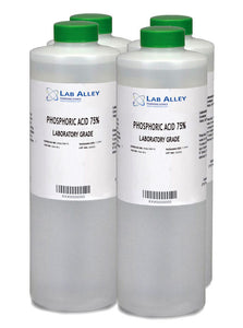 Phosphoric Acid 75% Lab, 4x1L