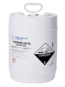 Phosphoric Acid 75% Lab, 5 Gallons