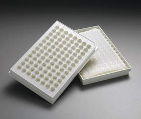 EMD Millipore MultiScreen HTS 96-Well Filter Plates with Negatively Charged Membrane