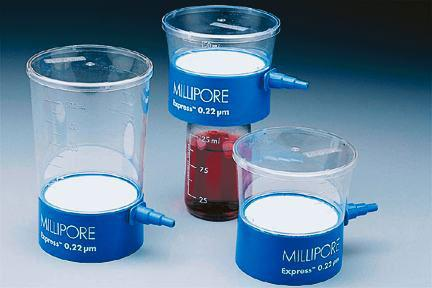 EMD Millipore Steritop Sterile Vacuum Bottle-Top Filters
