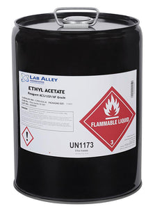 Ethyl Acetate, ACS/USP/NF Grade, 5 Gallon, Metal Pail