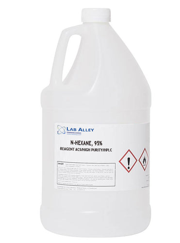 n-Hexane, High Purity, ACS, 95%, 1 Gallon