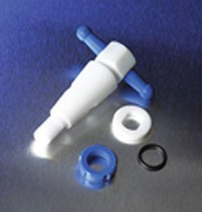 PYREX PTFE Product Standard Straight Bore Stopcock Plug Assembly