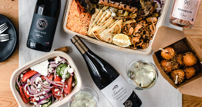 Try This: The Best Greek Takeout & Wine Pairings