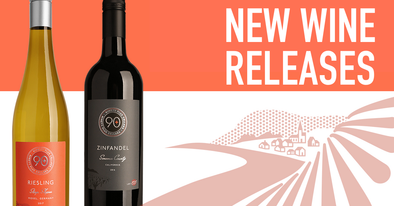 new wine releases, lot 155 Zinfandel and Lot 66 Riesling