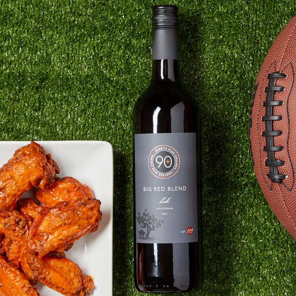 wine pairings for superbowl sunday and game day football