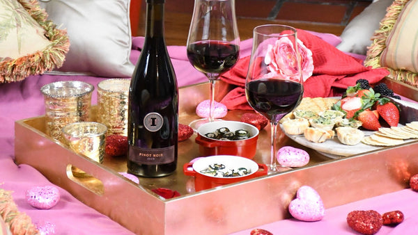 Iron Side Reserve Pinot Noir for Valentine's Day