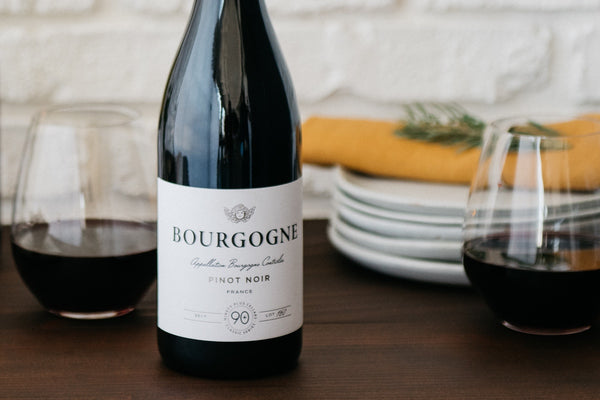 Burgundy Pinot Noir is our fall favorite! 90+ Cellars
