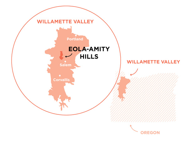 Eola-Amity Hills AVA Willamette Valley, Oregon