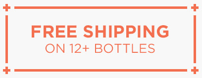 Free Shipping on 12+ Bottles