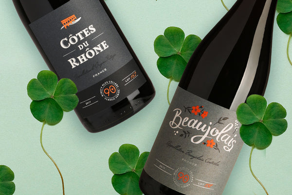 food and wine pairings for st patricks day