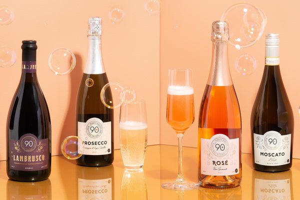 90+ Cellars Sparkling Wines for every occasion.