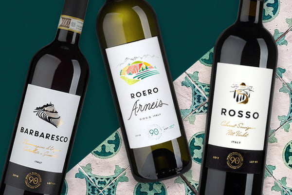new italian reserve wines by 90+ Cellars