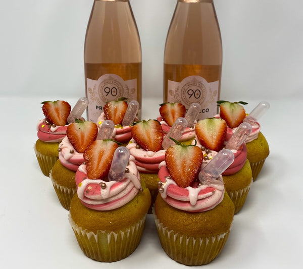 Queens Cups Cupcakes and 90+ Cellars Wines