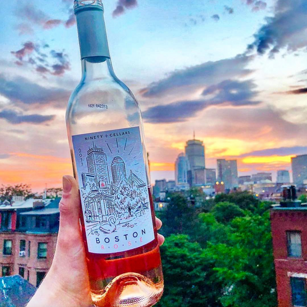 Celebrate Boston Rosé pairs with Super Bowl Sunday football and tailgates