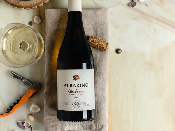 albarino from rias baixas, spain is a refreshing white wine that is perfect for summertime!