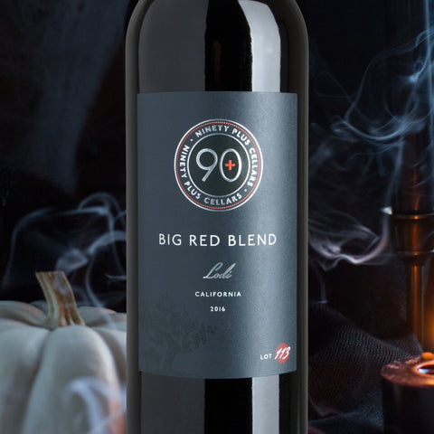 Big Red Blend pairs with Scary Movies for Halloween - Wine Pairing
