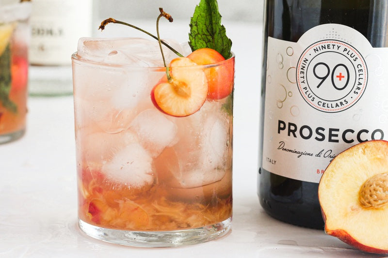 low calorie prosecco summer spritz makes the perfect summer sipper