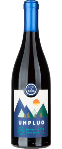 Life Is Good® Unplug Pinot Noir - Wines - Life is Good - 90+ Cellars