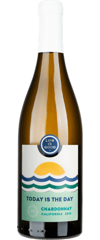 Life Is Good® Today Is The Day Chardonnay - Wines - Life is Good - 90+ Cellars