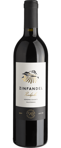 Lot 165 Zinfandel, Rockpile, Sonoma County, California 2017