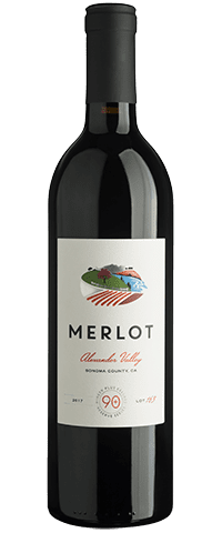 Lot 163 Merlot, Alexander Valley, Sonoma County, California 2017