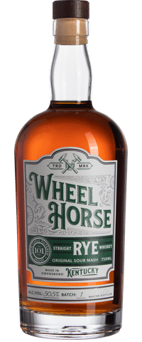 Wheel Horse Straight Rye Whiskey