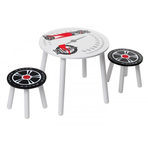 Racing Table & Chairs