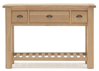 Breeze Oak Console Table