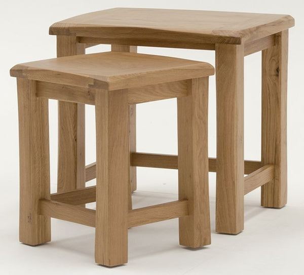 Breeze Oak Nest of Tables