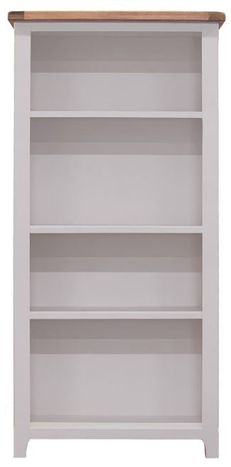 Clemence Grey Painted Bookcase