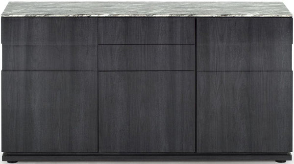 Donatella Grey Marble Sideboards