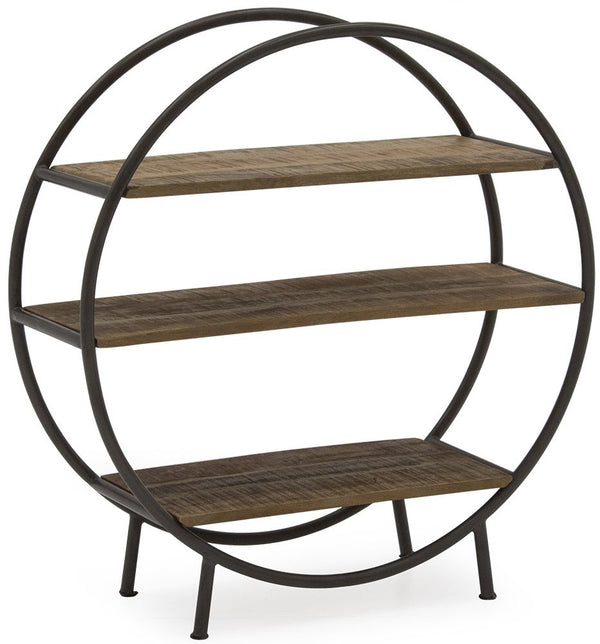 Savannah Round Bookcase
