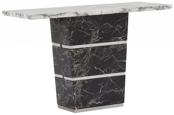 Valdina Marble Console Table