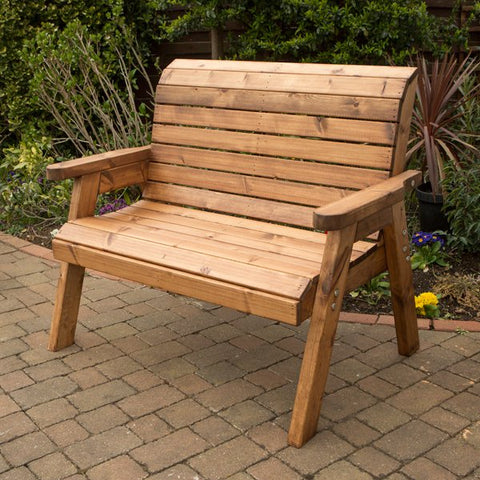 2 Seater Traditional Garden Bench