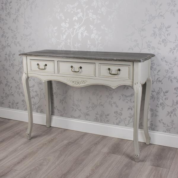 Sarah Three Drawer Console Table