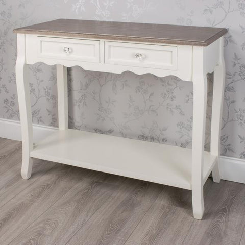 Sierra Two Drawer Console