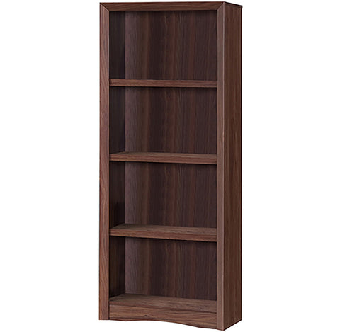 Bevel Walnut Bookcase